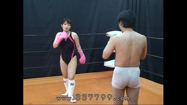 MLDO-056 Human sandbag for woman martial artist. Mistress Land