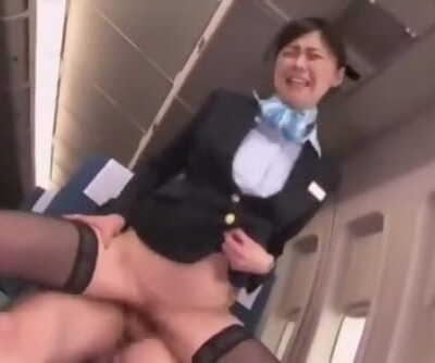 *FAVOURITE* - SLIM SEXY JAPANESE FUCK ON PLANE PUBLIC
