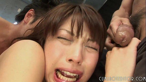 Obedient Youthfull Japanese Teen Jammed By Multiple Mild
