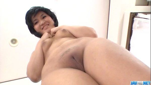 Saki Umita amazes with her cream-colored vagina and ass