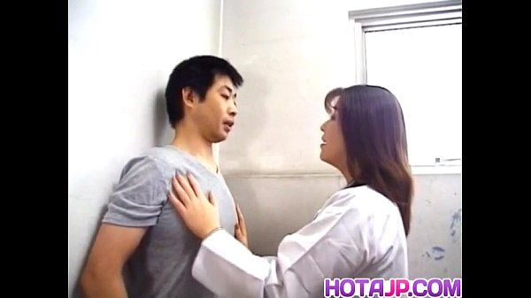 Yuko Tachibana has cum pouring from mouth after huge-chested boner