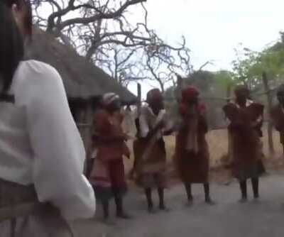 Japanese Woman travels to Africa for vacation