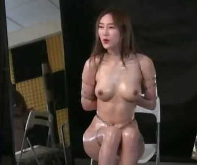 Chinese Model 依依 YiYi - Restrain bondage Shoot BTS