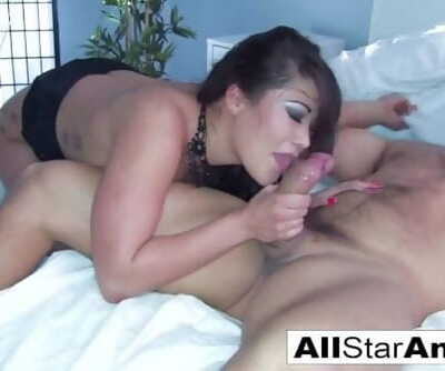 London Keyes Takes Ramons Big Cock In Her Devours Tight Ass!