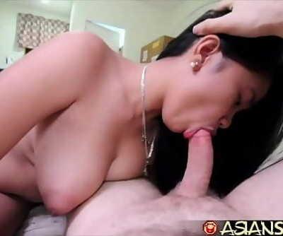 Asian Lovemaking DiarySexy youthful Mummy gets huge white cock 8 min 1080p