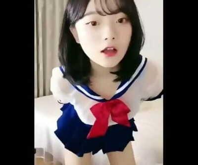 清纯可爱学生萝莉[初樱]突破尺度自慰诱惑秀4