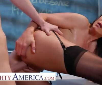 horny america India Summer fucks her student