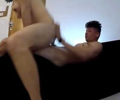 Real BTS Young Amateurs Huge-titted & Screwing on the Sex Chair 17 min 720p