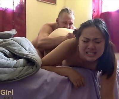 She sprays when he cums! ( @sukisukigirlreal / @andregotbars ) 25 min