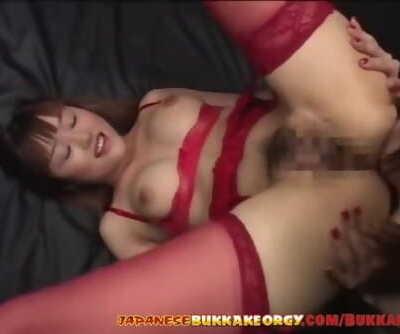 Japanese girls extreme Cum play - Japanese Bukkake Fuckfest