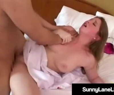 Registered Fuck Nurse Sunny Lane Boinks Asian Cock!