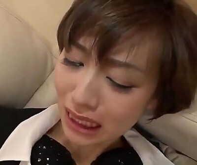 Akina Hara gushes decent blowjob before screwed hardMore at 69avs com 12 min 720p