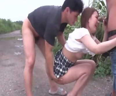 Mao Mizusawa feels excellent in out - More at javhd.net