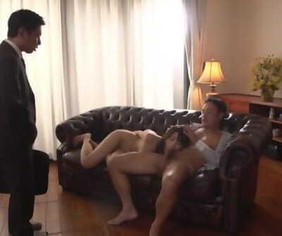 Cuckolding JAV deep throat wife Saki Hatsumi Subtitled