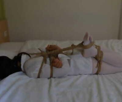 Asian Hotel Restrain bondage
