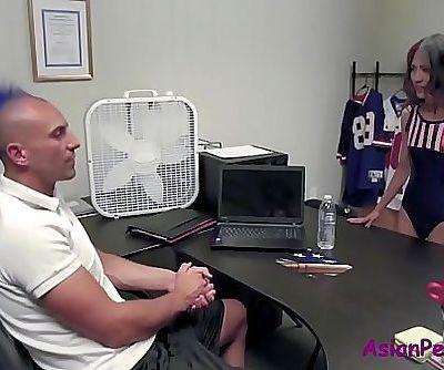 Soccer Coach Fucks ASIAN Interchange STUDENT 8 min