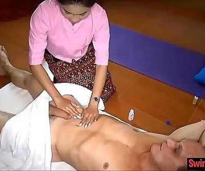 Asian massage parlor from Thailand gives utter service 6 min 720p