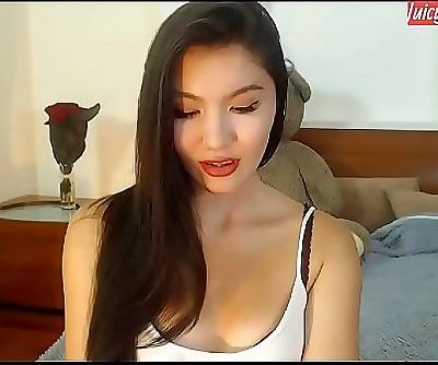 Sex converse with tongues asian shrieking at www.JuicyGirlCams.com 5 min 720p