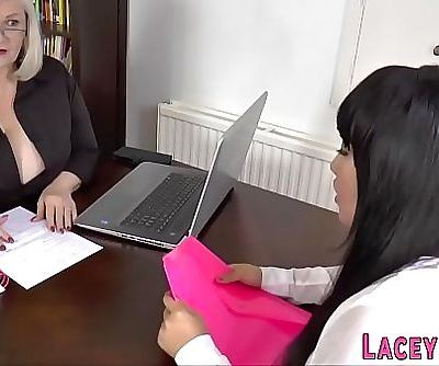 Granny gets pussy licked by asian lesbo 12 min 720p