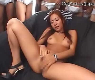 Japanese woman bukkake 14 min