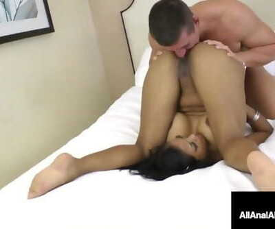 Crazy Busty Maxine X Takes a Pulsing Cock in her Behind!