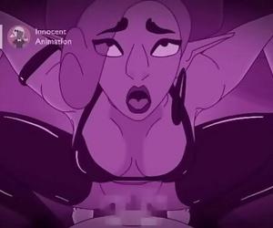 Urbosa Lovemaking dungeon parodyInnocent animation 3 min