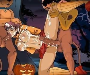 Scooby-Doo - Velma Dickley in a Gooey Sap Trap by CreamBee