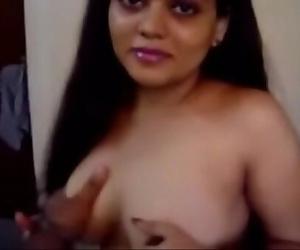 Indian Bhabhi Neha Nair Bedroom Gig