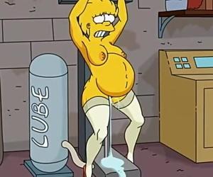 Simpsons Lovemaking