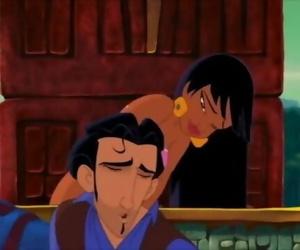 Lovemaking Scene in Disney Movie - the Road to El Dorado