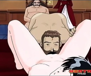 Hentai Professionls - Anime Princess Gets Fucked in Front..