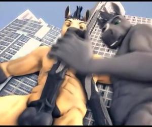 Gay Furry - 100% Club Freaks AMV #3