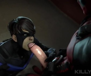 Deadpool and Nightwing