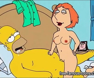 Simpsons and Griffins swingers orgy 5 min