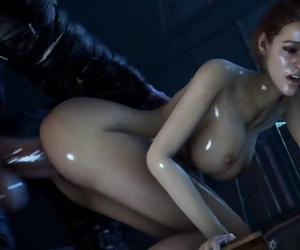 CUTE Chick GETS FUCKED BY MONSTER WITH a Big Hard-on