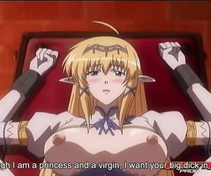 Hentai - Princess Locked in a Tower Gets Creampie by Guard