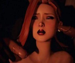 Songbirds Shame - Jessica Rabbit Blowbanged - 11 min HD
