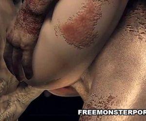 Monster studs group sex 3d fuckslut - 5 min HD