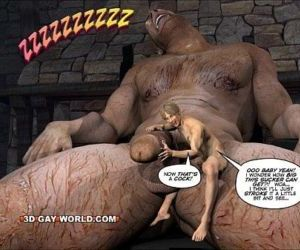 Wank AND THE BEANSTALK Gay Comic Version by 3D Gay World