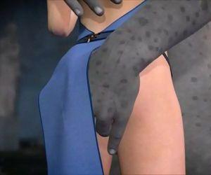 Tonguing Treasure 3D censored - 12 min