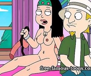 American father cartoon porno 5 min