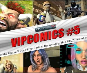 VipCaptions VipComics #5γ Hero of the Federation