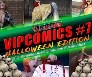 VipCaptions VipComics #7 Halloween Edition: Spirit of..