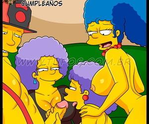 La Fiesta de Cumpleaños español Los Simpsons XXX..