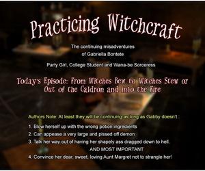 Practising Witchcraft – 3dZen
