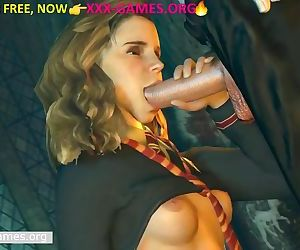Deep oral pleasure in castle, molten porn game