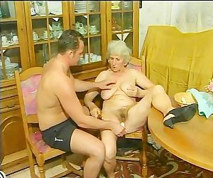 Granny gets screwed bullwhip