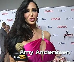 PornhubTV - Weirdest Getting off Wish Red Carpet AVN Awards 2014
