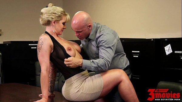 Busty Mummy Poked In The Office