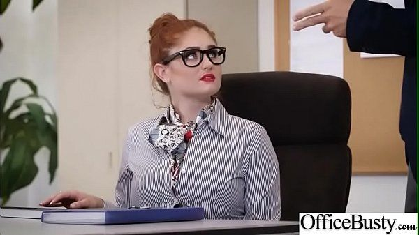 Hard Sex Tape In Office With Big Round Tits Luxurious Chick video-19